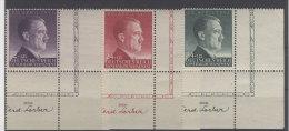 Generalgouvernement Michel No. 101 - 103 ** postfrisch