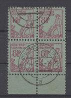 Mecklenburg Vorpommern  Michel No. 13 gestempelt used Viererblock