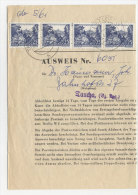 DDR Michel No. 816 auf  Sammler Ausweis