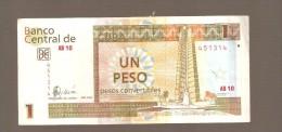 CUBA 1 PESO 2006 BANKNOTE