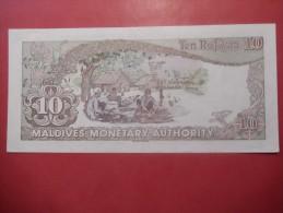 BANCONOTA MALDIVE - TEN RUFIYAA - Maldive