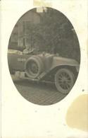 57 - CPA -  Photographie - En Médaillon - Soldat Conduisant Une Voiture  - (noir&blanc) - - Militaria