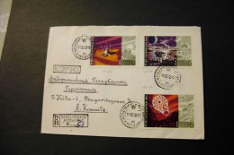 Russia Mars Spacecraft Space On Registered Cover 1972  A04s - Lettres & Documents