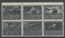 �sterreich WIPA 1933 Werbemarken / Marke oben rechts defekt