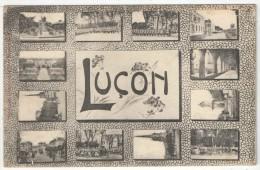 85 - LUÇON - 12 Vues - Lucon