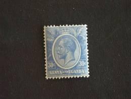 Kenya & Ouganda 1922-27 George V Yv 7 MH * - Kenya, Uganda & Tanganyika
