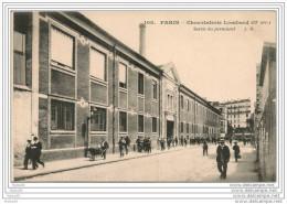 PARIS,,,,CHOCOLATERIE  LOMBARD,,,,  13e Arr.  ,,,,,SORTIE Du  PERSONNEL,,,,,ANIMEE,,,,T BE,,,, - France