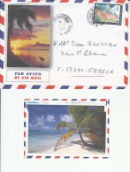 3D Type Stamps, Tahiti Airmail Cover To France   (Red-1016) - Tahiti (1882-1915)
