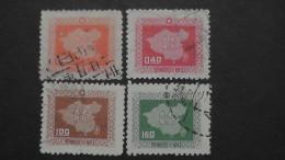 Taiwan(Formosa) - 1957 - Mi:258-61 O - Look Scan - 1945-... Republik China