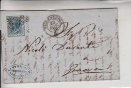 STORIA POSTALE-VG 1872 DA FLORENZUOLA-SCRITTO-FILATELIA -FRANCOBOLLI-TIMBRE -LOOK- ZIE 2 SCAN- - Pubblicitari