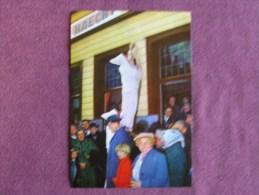 STAVELOT Blancs Moussi N° 181 Folklore Belgique Luxembourg Carnaval Chromo Magasins Végé Trading Card Chromos Vignette - Chromos
