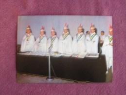 STAVELOT Blancs Moussi N° 185 Folklore Belgique Luxembourg Carnaval Chromo Magasins Végé Trading Card Chromos Vignette - Chromos