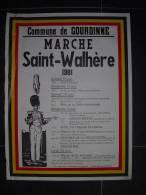 10 - Saint Walh�re Gourdinne 1981 marche militaire et folklorique
