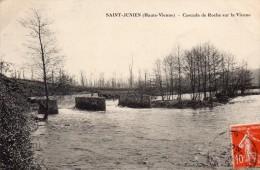 87 Saint Junien Cascade de Roche sur la Vienne