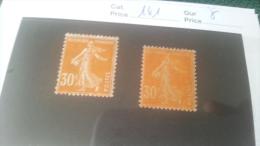 LOT 242312 TIMBRE DE FRANCE NEUF* N�141