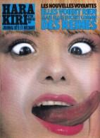 AFFICHETTE EN CARTON HARA KIRI JOURNAL BETE ET MECHANT N� 258 MARS 1983 (ANCIEN DEPOSITAIRE DE PRESSE) PUBLICITE