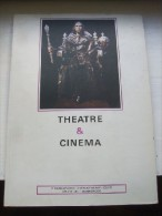 Théâtre Et Cinéma. 4° Rencontres Cinématographiques. Studio 43. Dunkerque. - Par EDITEURS