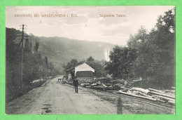 Kronthal  Bei Wasselnheim I. Els. Sägmühle Tobler Wasselonne Scierie - Wasselonne