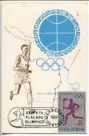 The Olympic Torch  1980 -  Romania, Mi.#  3043  On MC - Ete 1980: Moscou
