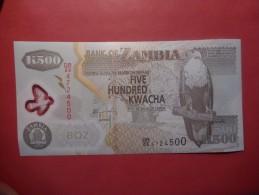 Zambia 500 Kwacha 2011 Polymer FDS - Zambia