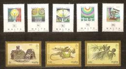 Malta Malte  1995  Yvertn° 934-941 *** MNH Cote 10  Euro 2 Séries - Malte