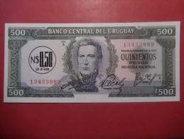 URUGUAY 500 PESOS FDS - Uruguay