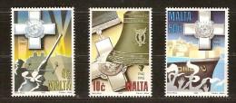 Malta Malte  1992  Yvertn° 866-68 *** MNH Cote 10  Euro - Malta