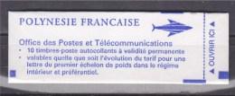 = Polynésie Française Carnet C507 (I) Type Du 506 Plus Petit Format Autocollant Dentelure Verticale TVP - Carnets