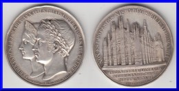 ** ITALIE LOMBARDIE-VENETIE - ITALIA LOMBARDIA VENETIA - FERDINANDUS I ET MARIA ANNA AUSTRIAE IMPERATORES 1838 - SILVER - Royaux/De Noblesse