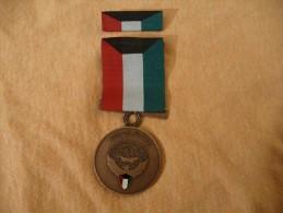 Médaille De La Libération Du KOWEIT 1991 - Médailles & Décorations