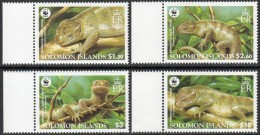 Solomon Islands Salomon 2005 Yvertn° 1164-67 *** MNH Faune WWF Cote 8,50 Euro - Salomon (Iles 1978-...)