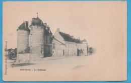 COURSON (89) LE CHATEAU  DOS SIMPLE JAMAIS UTILISEE PHOTOS R/V - Courson-les-Carrières