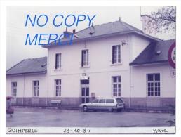 1 Photo - Gare De QUIMPERLE - Trains