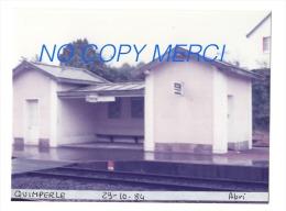 1 Photo - Gare De QUIMPERLE Abri - Trains