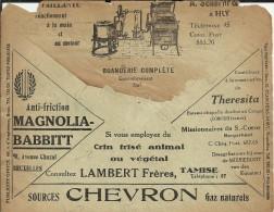 BELGICA CC CHEQUES POSTALES 1928 PUBLICIDAD LAVADORA GAS CHEVRON  BARCO CAPULLA THERESITA CONTENIDOS - Bélgica