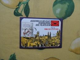 1970 Assemblea Delegati Federazioni Soc.Filateliche Roma 4 Ottobre Cartolina Ufficiale - 1961-70: Marcofilie