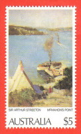 AUS SC #577 MNH  1979 Painting / A. Streeton, CV $9.50 - 1966-79 Elizabeth II