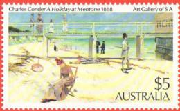 AUS SC #578 MNH  1984 Painting / Condor, CV $9.50 - Mint Stamps
