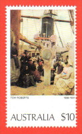 AUS SC #579 MNH  1977 Painting / Roberts, CV $15.00 - 1966-79 Elizabeth II