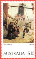 AUS SC #579 MNH  1977 Painting / Roberts, CV $15.00 - Mint Stamps