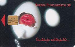 FINLAND - Lips, Sonera telecard, tirage 60000, 06/00, used