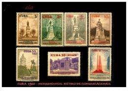 CUBA/KUBA 1960 RETIRO DE COMUNICACIONES  SET - Cuba