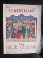LE CRAPOUILLOT 1954  N°26Jeanne-d´Arc-Marie Antoinette-Bazaine-Pétain- Oscar Wilde Caillaux Procès Célèbres : - Geschiedenis