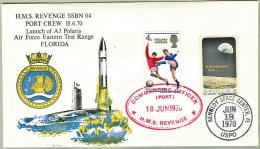 A-3 Polaris Submarine Launch- HMS Revenge- Double Cancelled-SEE - Militaria
