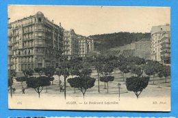 Mans838, Alger, Boulevard Laferri�re, 254, circul�e 1918 cachet Autorit� Militaire 404 et 761