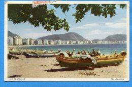 Mans840, Rio, Copacabana, Animée, 55, Circulée - Rio De Janeiro