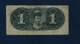 CUBA : 1 peso 1896. pk.47 a. Circul�/Ciculated.