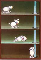 MORDILLO   Ed HEYE  VERLAG  N°10907  -  HUMOUR CHIEN  -  CPM  10.5x15 BE  1985 - Otros Ilustradores