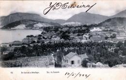 1904 RIO DE JANAIRO, Do Cattete A Botafogo, 5 Stempel - Rio De Janeiro