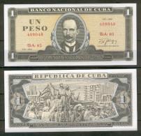 CUBA : 1 peso 1988. pk.102 d. UNC.NEUF.SC.